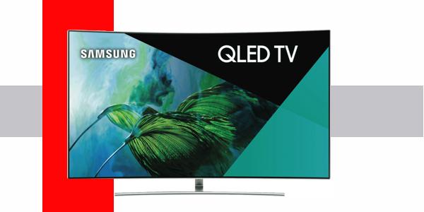 صفحه نمایش تلویزیون QLED